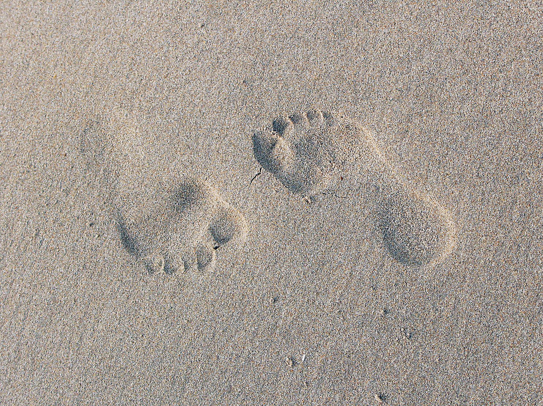 Opposite Feet