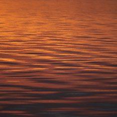 Sunset loch